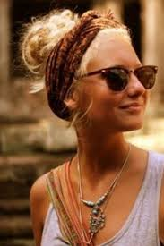how to wear bandanas with bob hairstyles pin by hillary falk on hair beauty nails pinterest