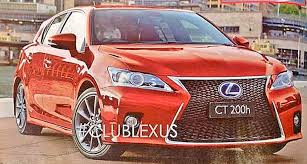lexus ct200h f sport intake 2014 lexus ct 200h with spindle grille autoevolution