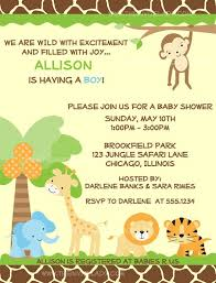 baby shower invitations free printable safari theme baby shower