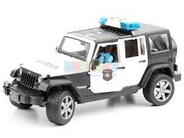 police jeep wrangler bruder 02527 jeep wrangler policyjny z figurką czarnoskórego
