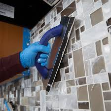 grout kitchen backsplash how to install a tile backsplash