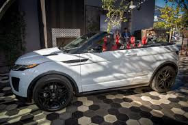 land rover convertible 2017 land rover range rover evoque convertible photo gallery