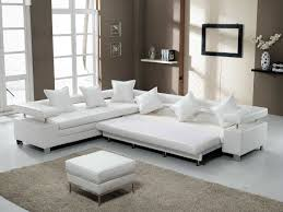 20 ways to white leather living room furniture
