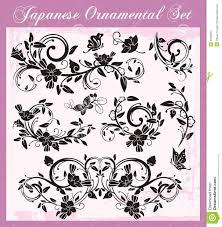 japanese traditional ornaments set stock image image 31566591