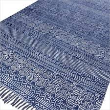 Indian Hand Woven Rugs Blue Rugs Bohemian U0026 Indian Blue Rugs Eyes Of India