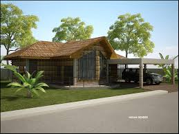 a simpler design option for my bahay kubo home our future home