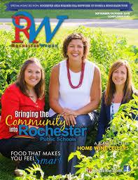 rochester women magazine september october 2016 by rochester