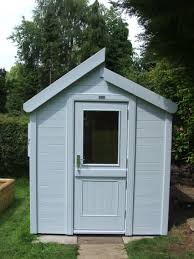 Garden Shed Floor Plans Captivating 25 Painted Garden Sheds Ideas Design Inspiration Of