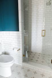 bathroom with subway tile promontory project downstairs office u2014 studio mcgee