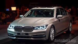 bmw car price in malaysia 2016 bmw g12 7 series launched in malaysia priced from rm699k