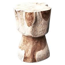 Wood Stump Coffee Table Maia Tree Stump Side Table By Inartisan Zanui