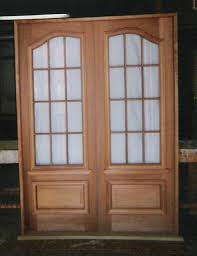 Exterior Door Wood Custom Built Wood Exterior Doors Entryway Arch Top Reproduction