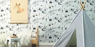 chambre bébé papier peint papier peint enfant notre sélection pour leur chambre