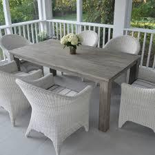 Gray Patio Furniture Sets - gray outdoor patio set patio gray white rectangle modern wooden