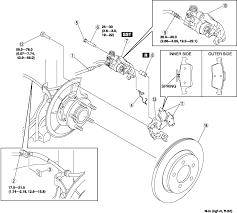 mazda 3 i how do you remove e brake from caliper on 2008 mazda