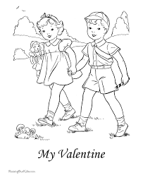 valentines coloring pages 016