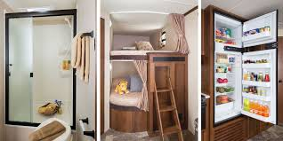 Luxury Rv Floor Plans by Rv Floor Plans With Bunk Beds