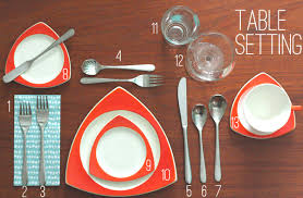 how do you set a table properly oh so lovely vintage how to properly set your table