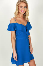 coast dress weekend on the coast dress in sapphire impressions online boutique