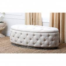 decorating most popular round storage ottoman for beautiful