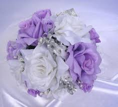 silver flowers lavender silver roses and dreams