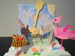 little townhome love rainy day zoo craft