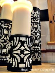 Candle Pedestals Upcycled Tin Cans To Chic Candle Pedestals How Cool You Could