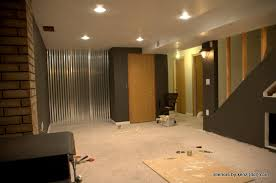how to decorate basement walls image of basement wall panels on