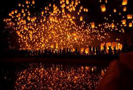 firework lantern move to stem sky lanterns fireworks at patong the