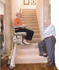 stair elevator for elderly and handicapped door stair