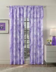 pretty curtain design with purple color 4 home ideas