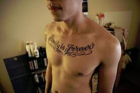 psalm 27 tattoos for men collar bone tattoos for men quotes