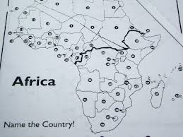 Map Of Africa Blank by Blank Map Of Africa Quiz