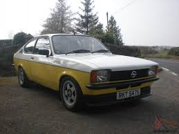 opel kadett rally car opel kadett c coupe gte