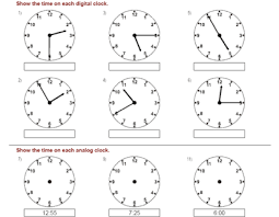 time learning clock telling the time learning to tell the time childcare is