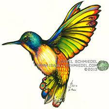 color humming bird by isabel schmiedel on deviantart