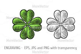 leaf ribbon four leaf clover horseshoe ribbon with text luck by