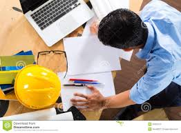 architect working at home stock photography image 30003722
