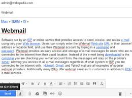 what is email electronic mail webopedia definition