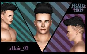 sims 3 men custom content five fantastic vacation ideas for sims 3 male hairstyles sims 3