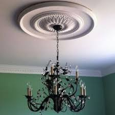 What Size Ceiling Medallion For Chandelier The Icing On The Ceiling The Ceiling Medallion Ceiling