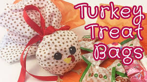 treat bags for thanksgiving diy