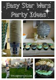 wars party ideas easy frugal wars themed party ideas