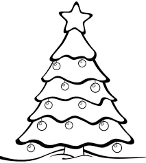 blank tree coloring cartoon clipart black white mad