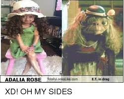 adalia rose totally looks likecom et in drag xd oh my sides meme