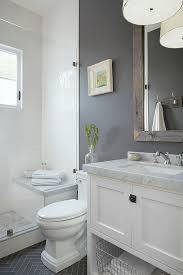 creative idea guest bathroom ideas with tub grey in simple 2015
