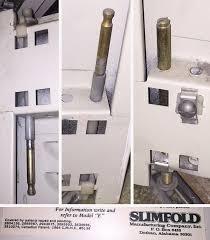 Slimfold Closet Doors Slimfold Closet Doors Model E Parts Swisco