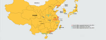Shenzhen China Map Damco Banks On China