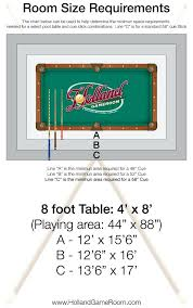 bar size pool table dimensions billiards table size billiard pool table room size pool table size