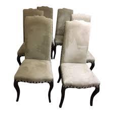 Pottery Barn Boston Ma Pottery Barn Calais Chairs Set Of 6 Chairish
